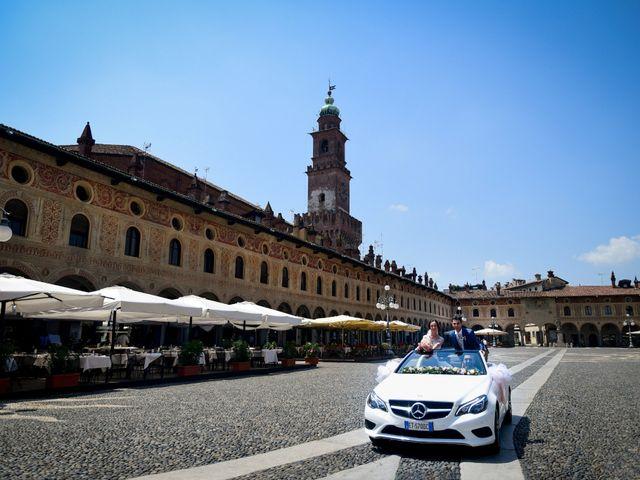 Il matrimonio di Tindaro e Elena a Vigevano, Pavia 37