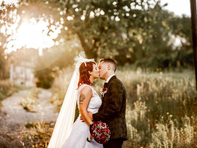 Il matrimonio di Alex e Jessica a Cellino Attanasio, Teramo 7