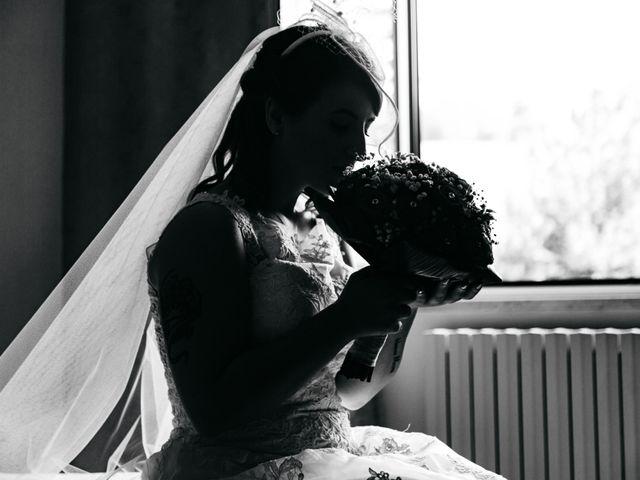 Il matrimonio di Alex e Jessica a Cellino Attanasio, Teramo 17