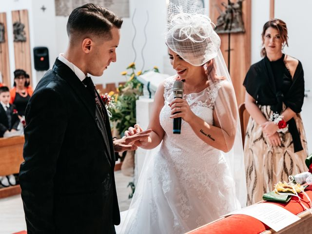 Il matrimonio di Alex e Jessica a Cellino Attanasio, Teramo 32