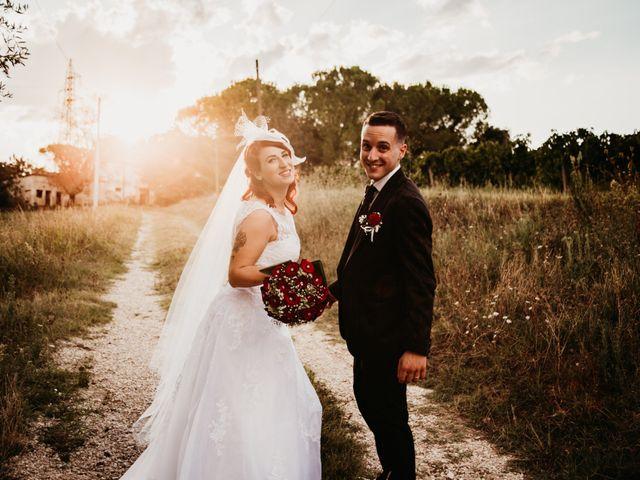 Il matrimonio di Alex e Jessica a Cellino Attanasio, Teramo 41