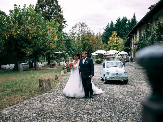 Il matrimonio di Giancarlo e Francesca a Morsasco, Alessandria 32