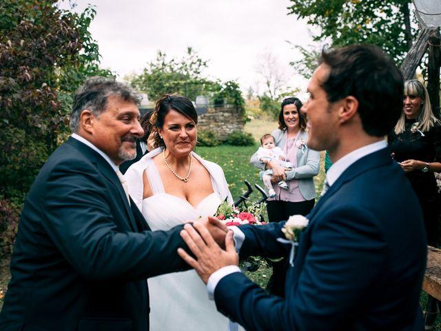 Il matrimonio di Giancarlo e Francesca a Morsasco, Alessandria 34