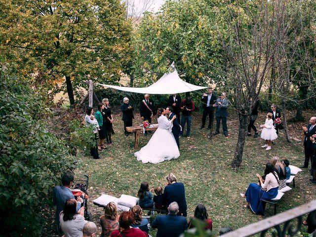 Il matrimonio di Giancarlo e Francesca a Morsasco, Alessandria 41