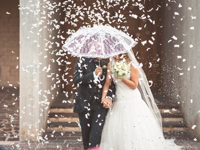 Le nozze di Stephanie e Giuseppe