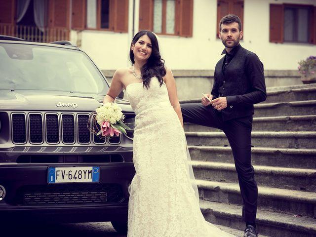 Il matrimonio di Brigitte e Aldo a San Francesco al Campo, Torino 40