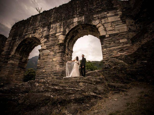 Il matrimonio di Brigitte e Aldo a San Francesco al Campo, Torino 87