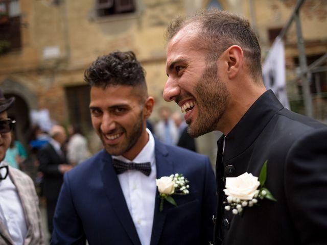 Il matrimonio di Dario e Federica a Chianni, Pisa 23