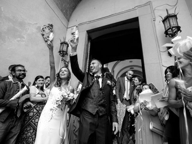 Il matrimonio di Dario e Federica a Chianni, Pisa 35