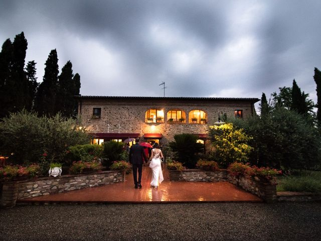 Il matrimonio di Dario e Federica a Chianni, Pisa 49