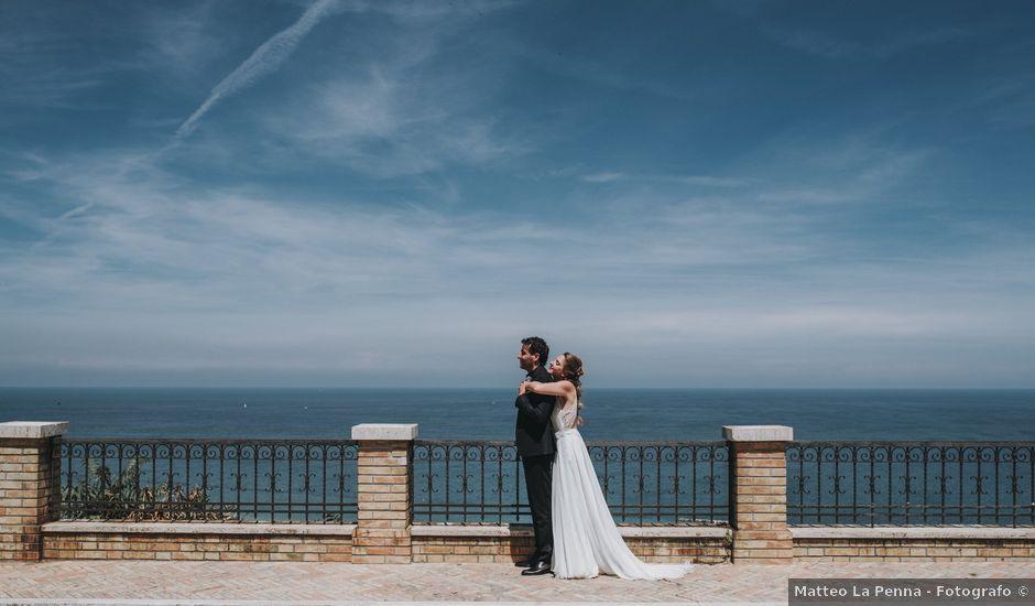 Il matrimonio di Davide e Debora a Altidona, Fermo