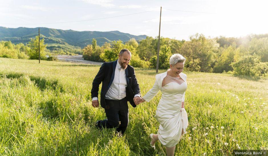 Il matrimonio di Angelo e Olga a Compiano, Parma