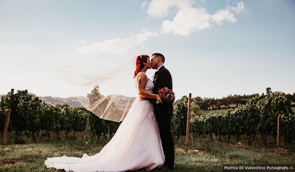 Il matrimonio di Alex e Jessica a Cellino Attanasio, Teramo
