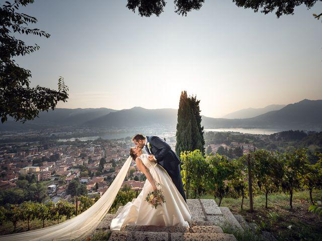 Il matrimonio di Yorick e Daniela a Calolziocorte, Lecco 44