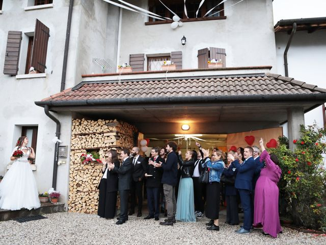 Il matrimonio di Gianluigi e Chiara a Alano di Piave, Belluno 25