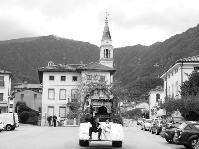 Il matrimonio di Gianluigi e Chiara a Alano di Piave, Belluno 45