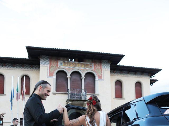 Il matrimonio di Gianluigi e Chiara a Alano di Piave, Belluno 49