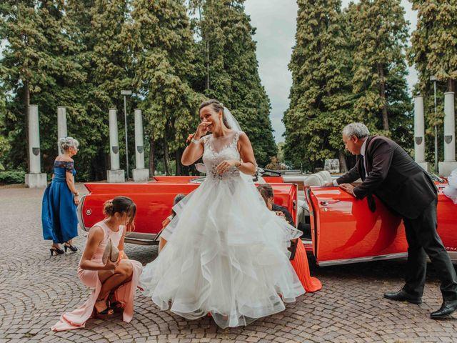 Il matrimonio di Gabriele e Martina a Novara, Novara 50