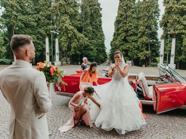 Il matrimonio di Gabriele e Martina a Novara, Novara 51