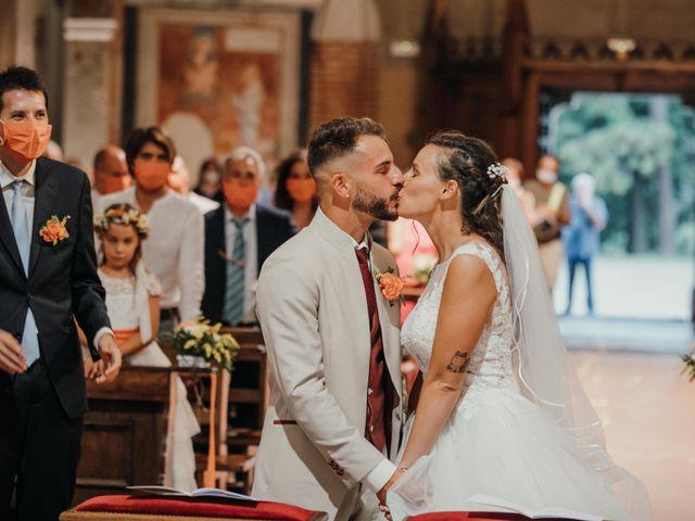 Il matrimonio di Gabriele e Martina a Novara, Novara 75