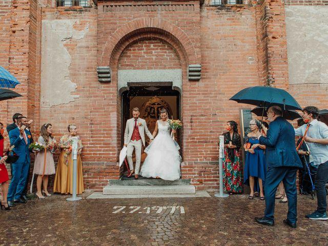 Il matrimonio di Gabriele e Martina a Novara, Novara 77