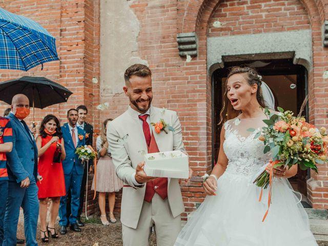 Il matrimonio di Gabriele e Martina a Novara, Novara 80