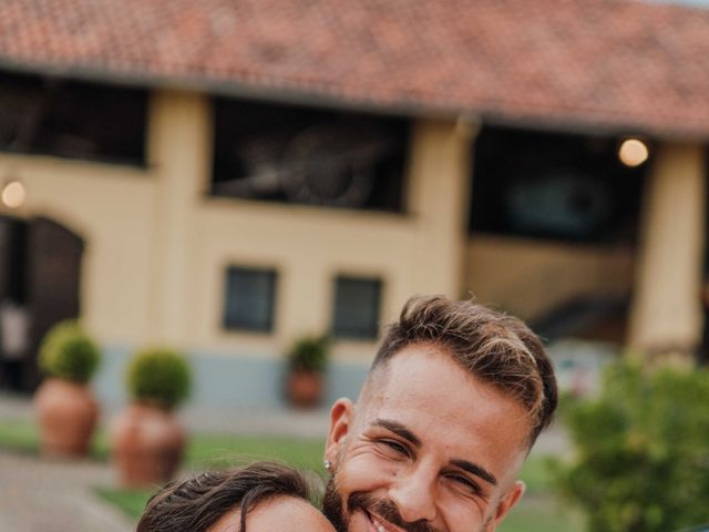 Il matrimonio di Gabriele e Martina a Novara, Novara 115