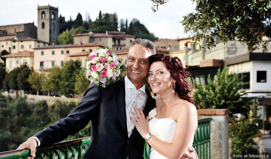 Il matrimonio di Massimo e Serena a Montecatini-Terme, Pistoia