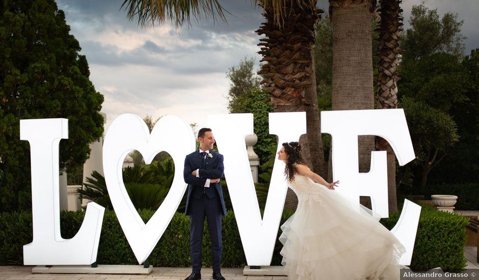 Il matrimonio di Sebastiano e Gabriella a Scordia, Catania