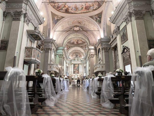 Il matrimonio di Nicola e Annalisa a Cazzago San Martino, Brescia 93