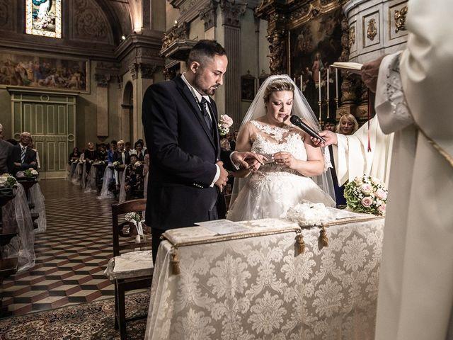 Il matrimonio di Nicola e Annalisa a Cazzago San Martino, Brescia 96