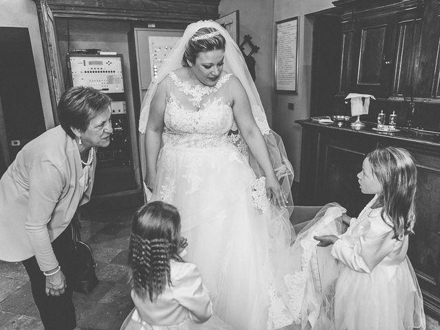 Il matrimonio di Nicola e Annalisa a Cazzago San Martino, Brescia 115