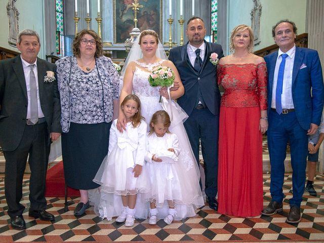 Il matrimonio di Nicola e Annalisa a Cazzago San Martino, Brescia 117