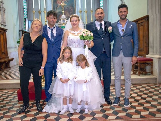 Il matrimonio di Nicola e Annalisa a Cazzago San Martino, Brescia 118