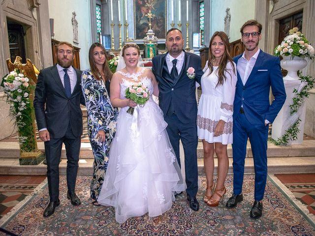 Il matrimonio di Nicola e Annalisa a Cazzago San Martino, Brescia 120