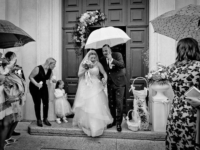 Il matrimonio di Nicola e Annalisa a Cazzago San Martino, Brescia 121