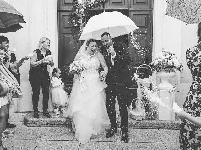 Il matrimonio di Nicola e Annalisa a Cazzago San Martino, Brescia 127