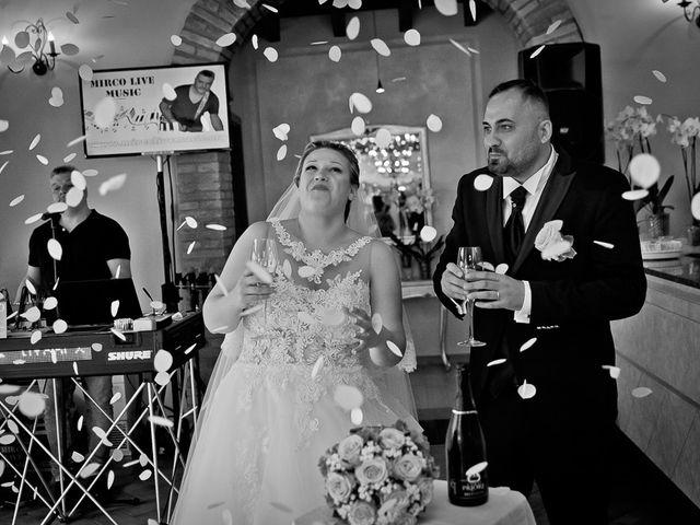 Il matrimonio di Nicola e Annalisa a Cazzago San Martino, Brescia 142