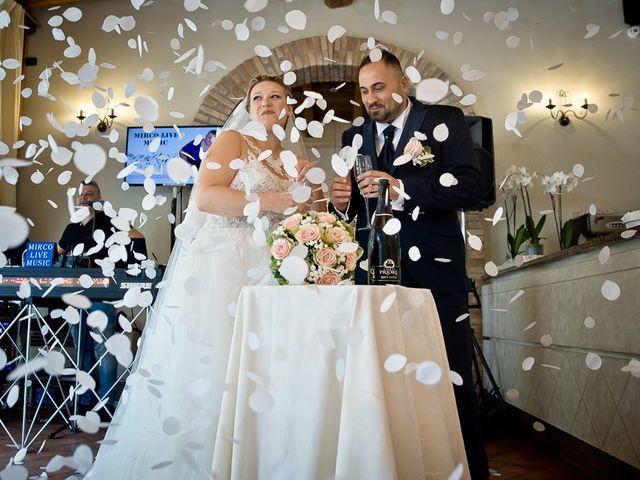 Il matrimonio di Nicola e Annalisa a Cazzago San Martino, Brescia 143