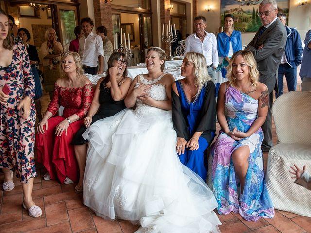 Il matrimonio di Nicola e Annalisa a Cazzago San Martino, Brescia 152