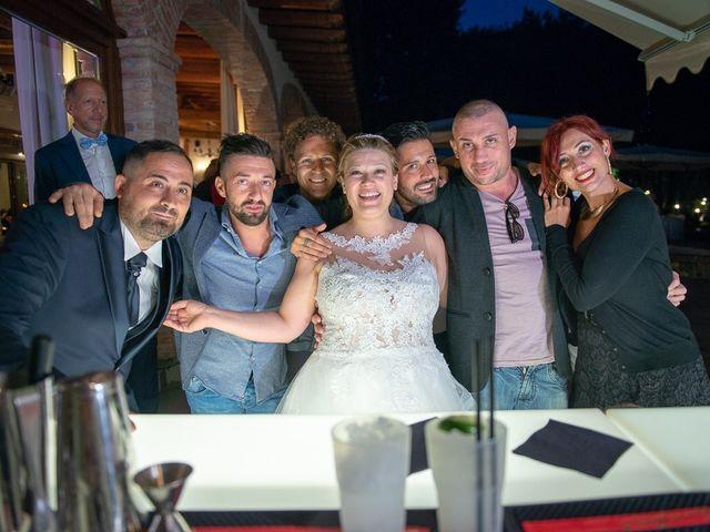 Il matrimonio di Nicola e Annalisa a Cazzago San Martino, Brescia 223