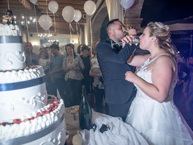 Il matrimonio di Nicola e Annalisa a Cazzago San Martino, Brescia 235