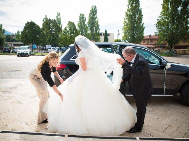 Il matrimonio di Daniele e Luana a Sermoneta, Latina 18