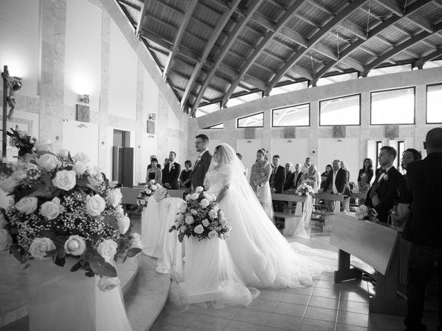 Il matrimonio di Daniele e Luana a Sermoneta, Latina 20