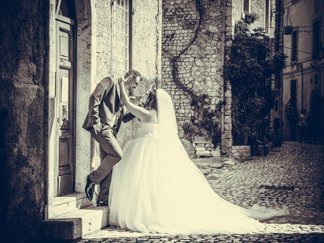 Il matrimonio di Daniele e Luana a Sermoneta, Latina 1
