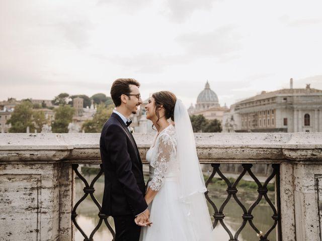 Il matrimonio di Andrea e Maria Stella a Roma, Roma 1