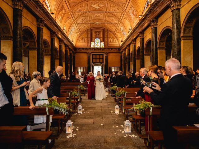 Il matrimonio di Nicola e Dania a Bellinzago Novarese, Novara 23