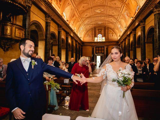 Il matrimonio di Nicola e Dania a Bellinzago Novarese, Novara 25