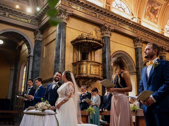 Il matrimonio di Nicola e Dania a Bellinzago Novarese, Novara 27