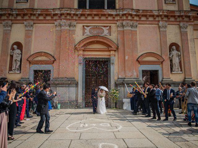 Il matrimonio di Nicola e Dania a Bellinzago Novarese, Novara 44